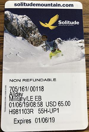 Solitude Mountain