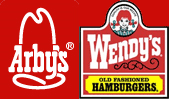 Arby's and Wendy's Logos