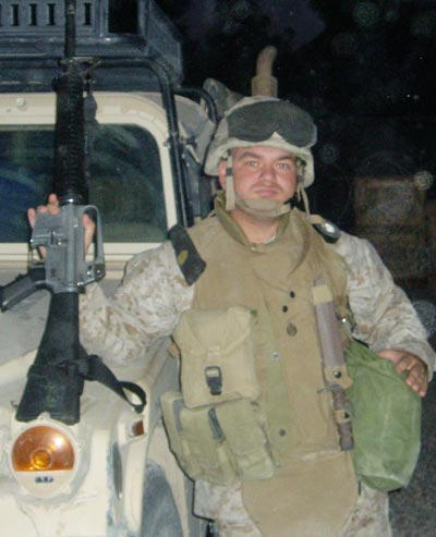 Jose Miranda, a Marine who served in Iraq and Afghanistan, is another fitting example of military service influencing the family.