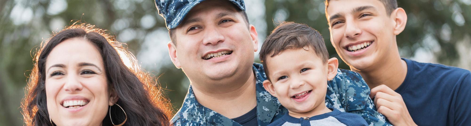 Veterans Advantage About Military Family