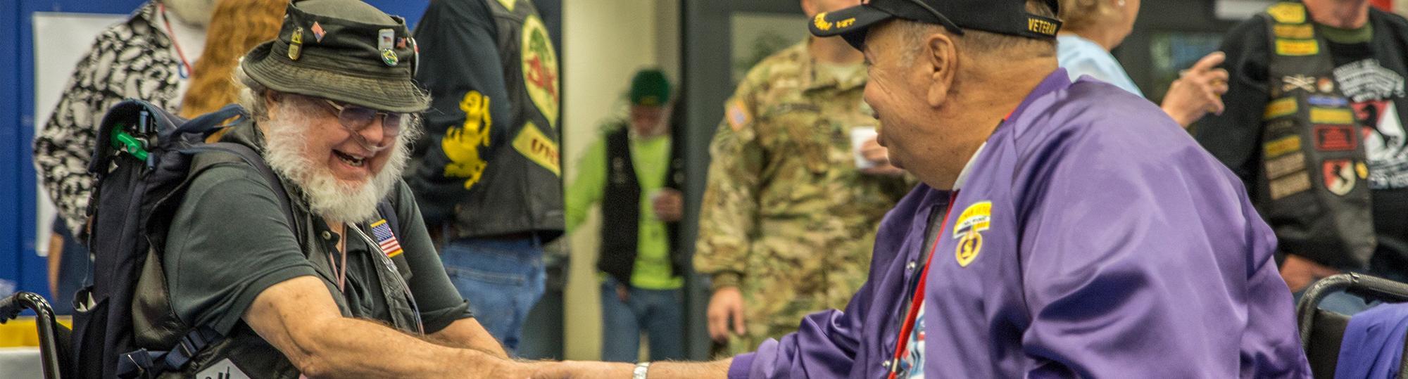 military and veteran life