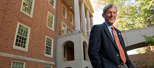 Steven Reinemund at Wake Forest University