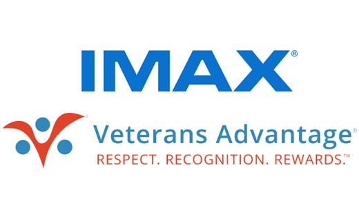 Imax and Veterans Advantage