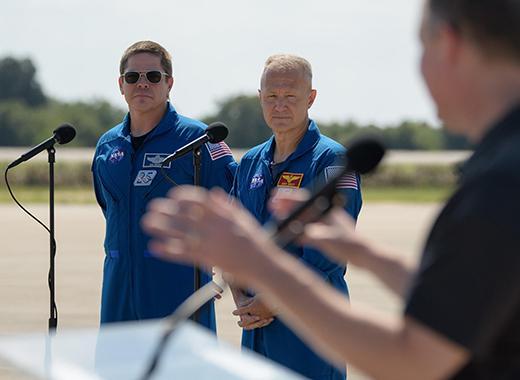 SpaceX astronauts Behnken & Hurley