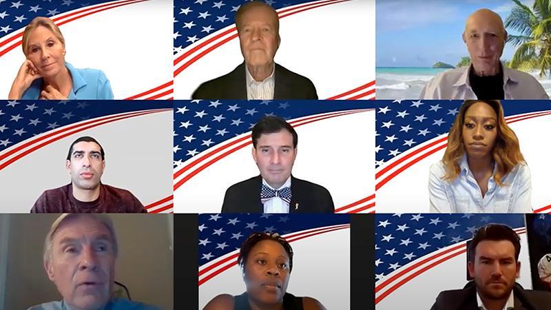 Military veterans and olympians meet via Zoom for Veterans Advantage's annual Heroes Meet Heroes.