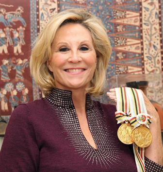 Donna de Varona's lifetime of achievement, including two Olympic gold medals, and activism has given her access to decision-makers on par with anyone in sports.