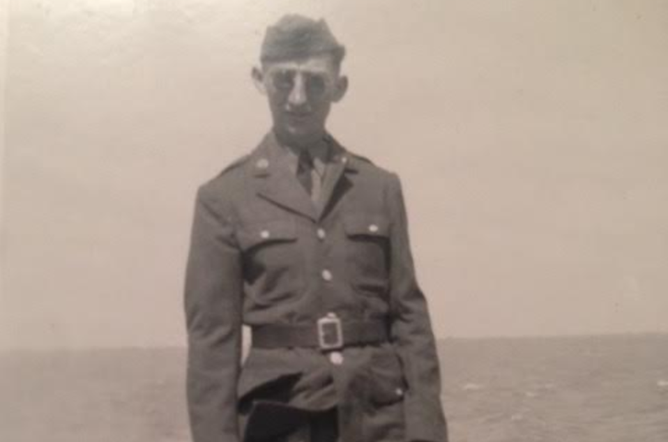 Will Jean Harney, Army, during his service in Europe WWII