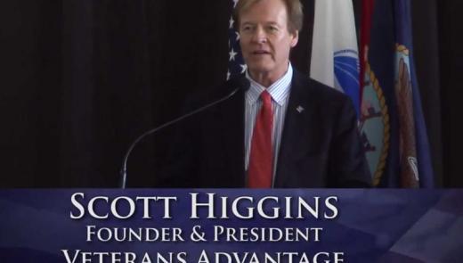 Scott Higgins at Vietnam Recognition Day 2013