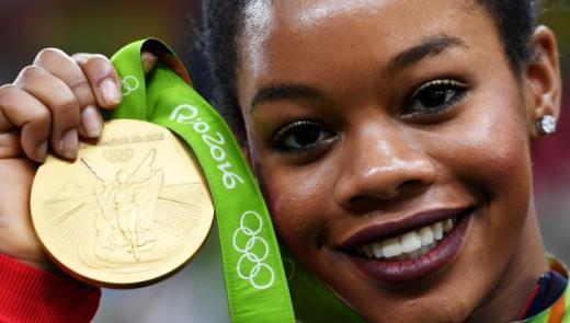 Gabby Douglas at the Rio 2016 Olympics
