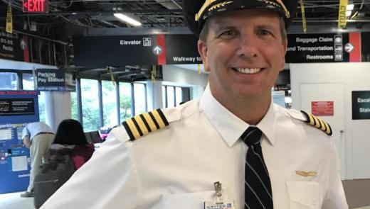 David Fawcett, United Airlines Captain