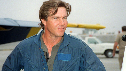 Dennis Quaid Navy Blue Angels