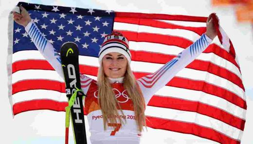 Veterans Advantage, 2018 Olympics, Lindsey Vonn