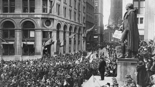 New York City Armistice Day 1918