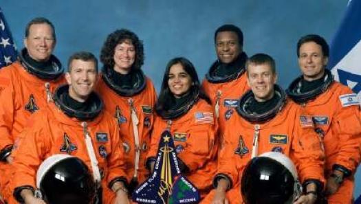 crew of the Columbia