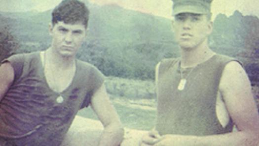 Ed McSorley in Vietnam