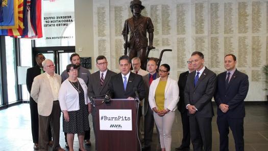 Burn Pits Legislation Gains Momentum on Capitol Hill