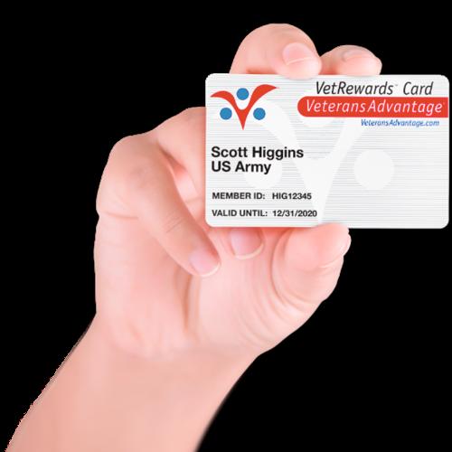 vetrewards card